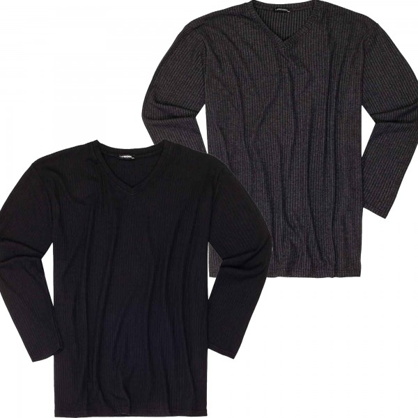 Leichter Pullover in Strickoptik