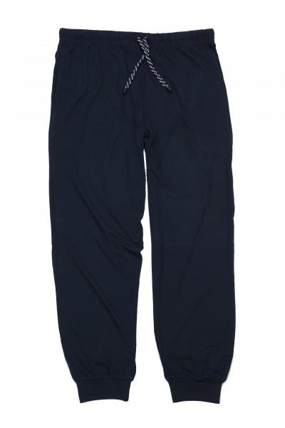 Pyjamahose aus Jersey mit Bündchen