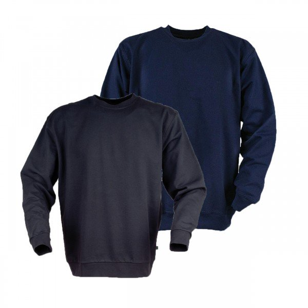 Ahorn Basic Sweat-Shirt Rundhals