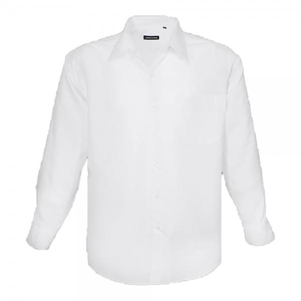 Klassisches Herrenhemd in weiß