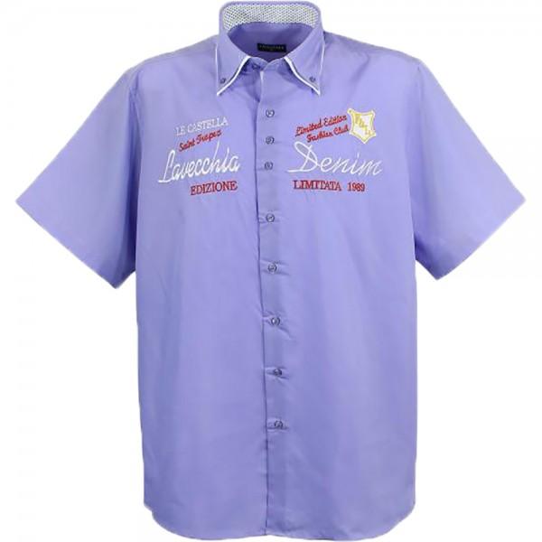 Lavecchia Übergrößenhemd in purple