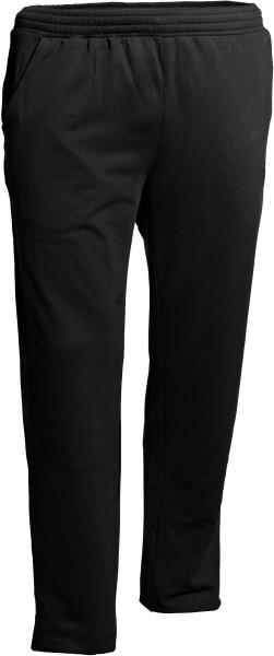 Jogginghose in Überlänge, schwarz