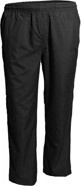 Leichte Hose in Überlänge, schwarz