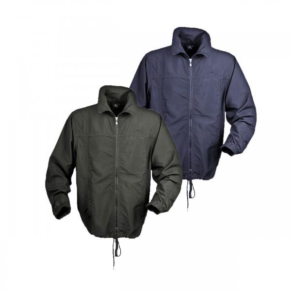 Übergrößen Jacke, leichter Microstoff