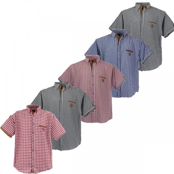 Übergrößen Herrenhemd, kariert