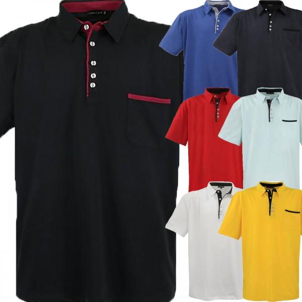 Übergrößen Männer Polo-Shirt