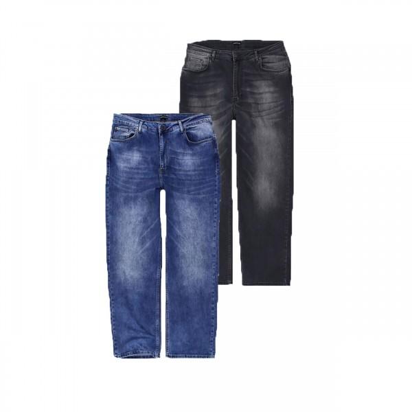 Übergrößen Jeans in zwei schönen Waschungen