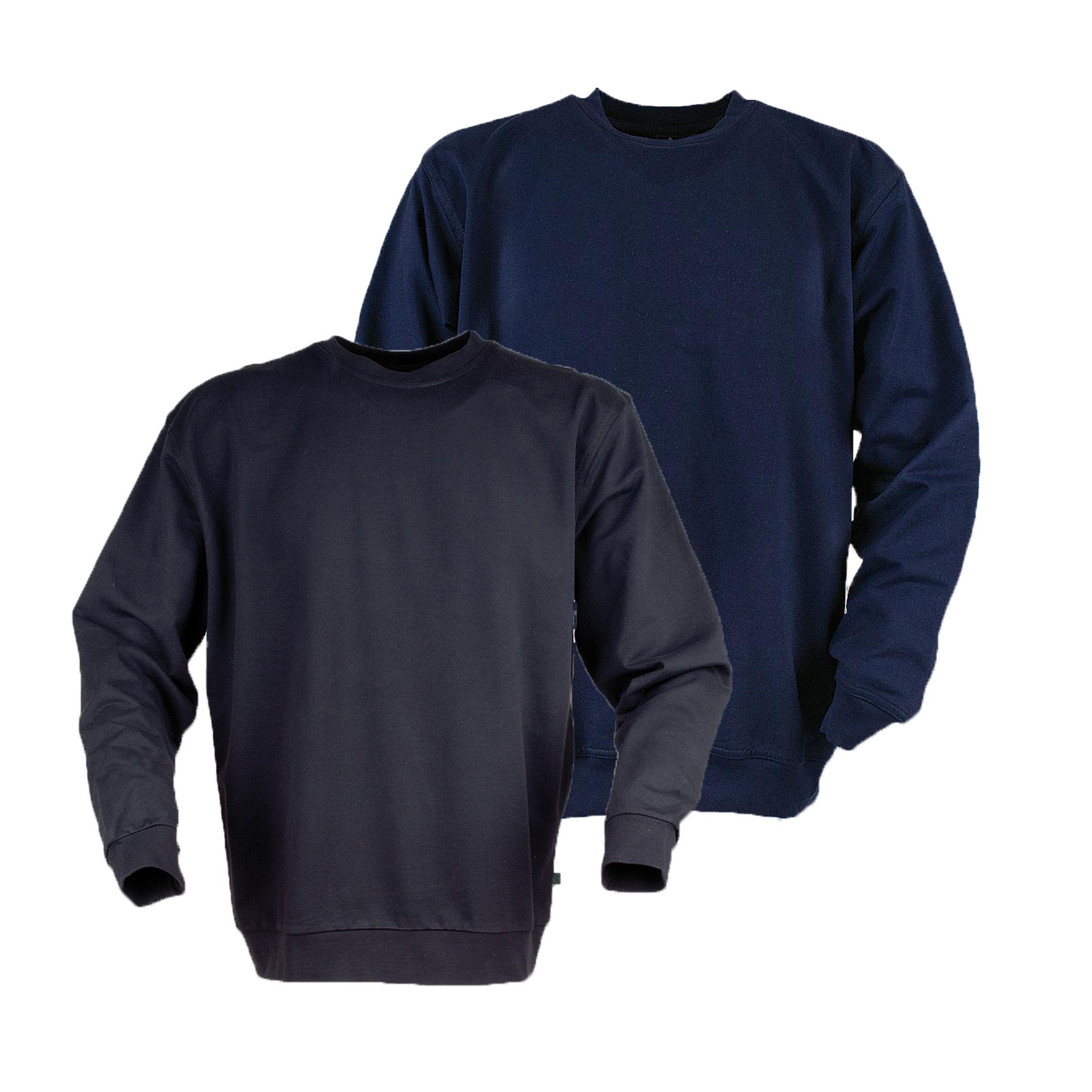 Ahorn Basic Sweat Shirt Rundhals