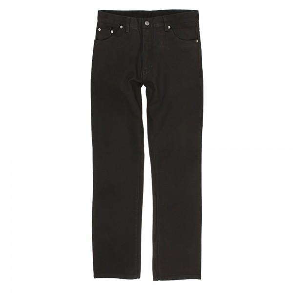Leichte Herrenhose aus Baumwolle in Übergröße - black