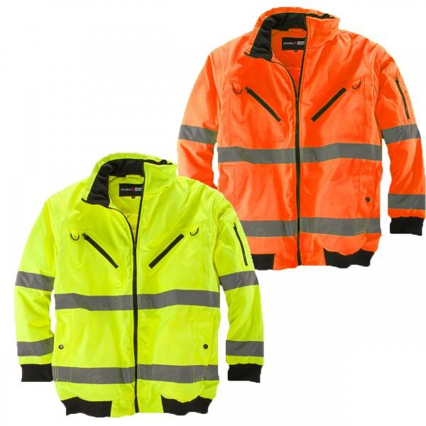 Übergrößen Arbeitsjacke Warnschutz