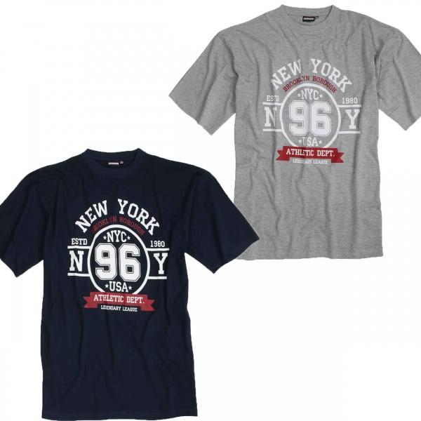 T-Shirt NY96 für große Größen von Adamo