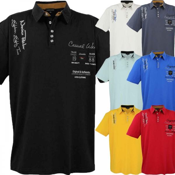 Übergrößen Polo-Shirt CASUAL WEAR